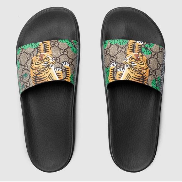 6920ae3c5 Gucci Shoes | New Bengals Slide Sandals | Poshmark